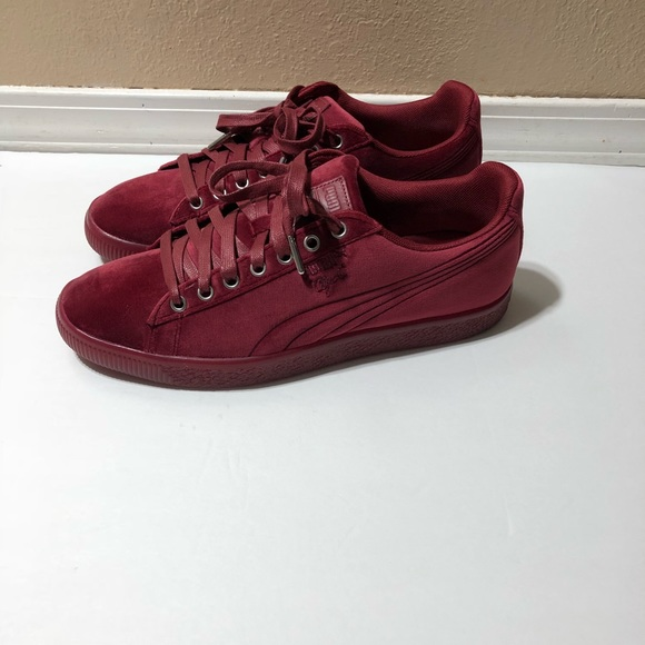 Puma Shoes | Clyde Maroon Size 10